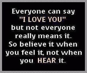 I Love You, everyone can say, and really means it image