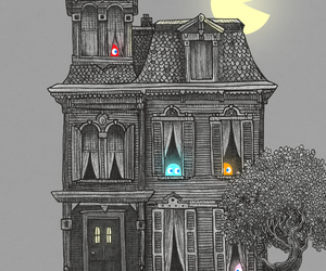 pacman and house image