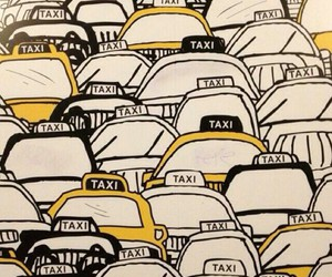 taxi, wallpaper, and new york image
