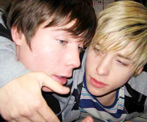 blonde, maxxie, and brunette image