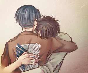 snk, ereri, and riren image