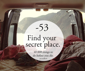 secret, peace, and place image