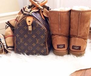 fashion, ugg, and bag image