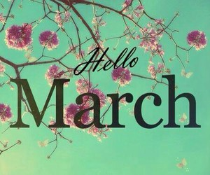 flower, march, and year image