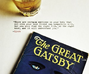 book, the great gatsby, and reading image