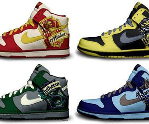 harry potter, nike, and shoes image
