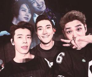 siwon, super junior, and kangin image
