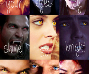 blue, derek, and eyes image
