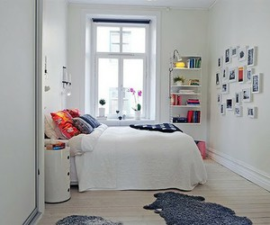 bedroom, white, and photoboard image