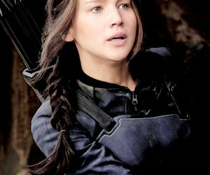 katniss and hunger games image