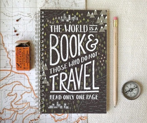 book, books, and compass image