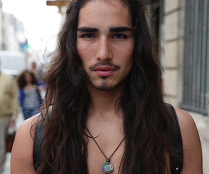 willy cartier, boy, and long hair image