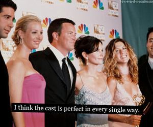 cast, chandler bing, and Courteney Cox image