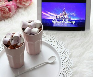 disney, marshmallow, and food image
