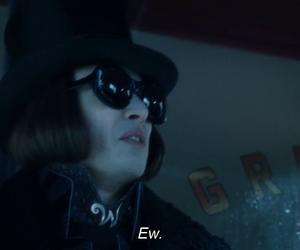 ew, johnny depp, and Willy Wonka image