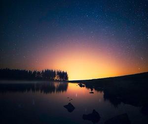 stars and sunset image