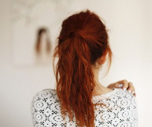 alone, curly hair, and Forever Young image