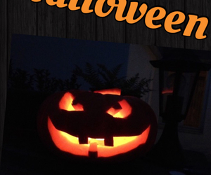 Halloween and made with love image