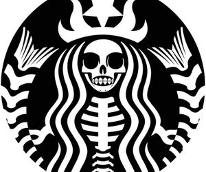 starbucks, Halloween, and black image