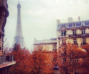 paris, autumn, and beautiful image