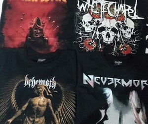 death metal, nevermore, and behemoth image