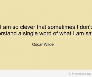 clever and oscar wilde image