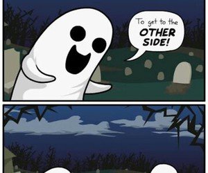 ghost, funny, and joke image