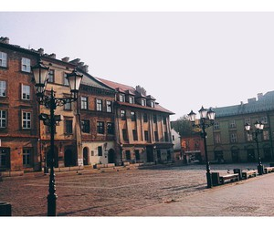 architecture, cracow, and buildings image