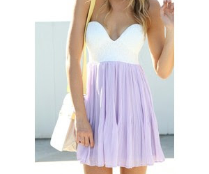 dress, purple, and outfit image