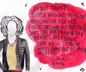 bob dylan, jack white, and music image