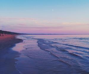 beauty, sea, and sky image