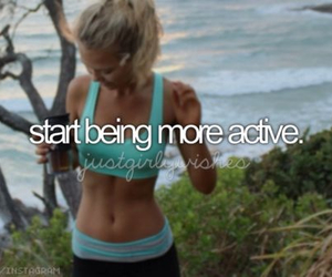 active, fitness, and sport image