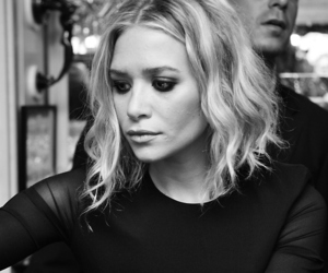 black and white, mary kate olsen, and photo image