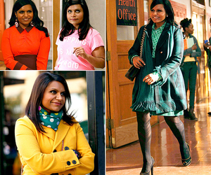 fashion, mindy, and the mindy project image