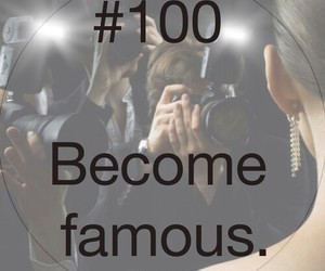 famous, 100 things to do in life, and 100 image