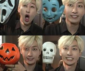 eunhyuk, suju, and Halloween image