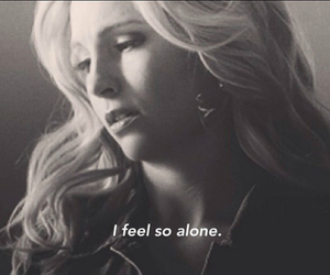 alone, sad, and the vampire diaries image