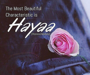 The most beautiful characteristic is shyness