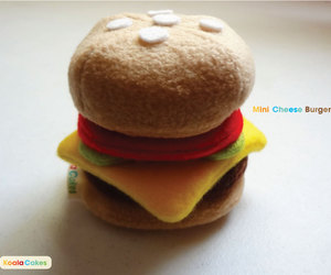 cheese, cheeseburger, and plush image