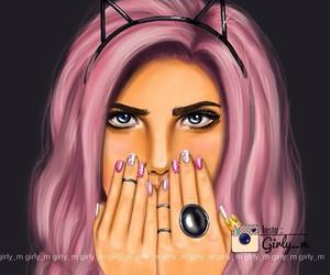 girly_m, girl, and beautiful image