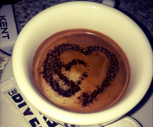 coffee, from, and heart image