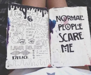 grunge, ahs, and book image