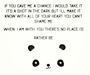 rather be, panda, and clean bandit image