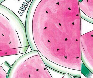 color, watermellon, and wallpaper image