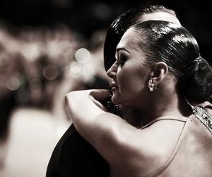 ballroom, couple, and dancing image