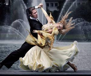 ballroom, dance, and dancing image
