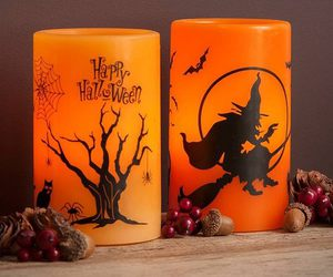 candle, Halloween, and witch image