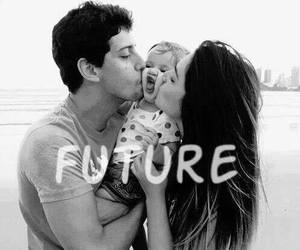 love, future, and baby image