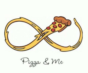 pizza and love image