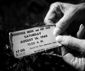woodstock and ticket image